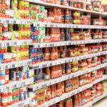 Magasin d'alimentation générale dans le Cotentin